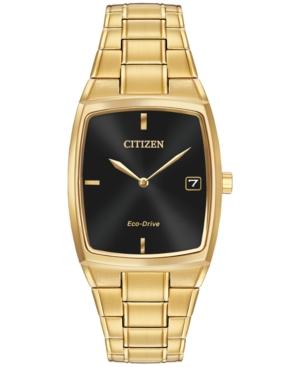 Citizen Men's Eco-Drive Gold-Tone Stainless Steel Bracelet