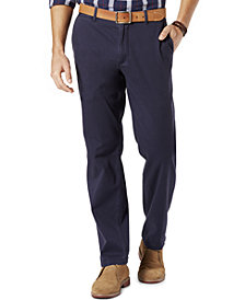 Dockers Men's Stretch Straight Fit Washed Khaki Pants D2