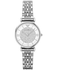 Emporio Armani Women's Stainless Steel Bracelet Watch 32mm AR1925