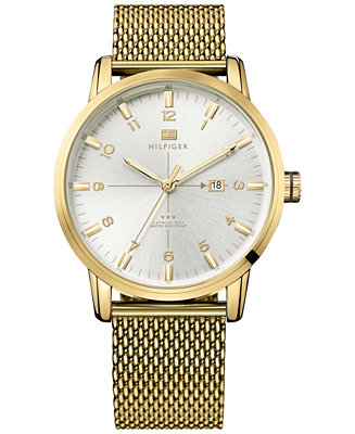 Tommy Hilfiger Men's Casual Sport Gold-Tone Stainless