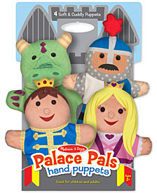 Melissa and Doug Kids' Palace Pals Hand Puppets Set