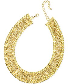 Thalia Sodi Gold-Tone Wide Collar Necklace, Created for Macy's