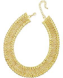 Thalia Sodi Gold-Tone Wide Collar Necklace, Created for Macy's