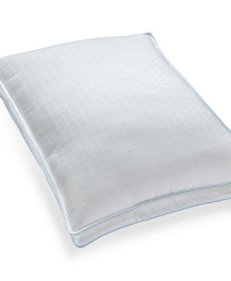 Cool Fusion Medium Density Standard Pillow with Cooling Gel Beads, SensoreElle™ Ultra Loft Memory Fiber Fill, Created for Macy's