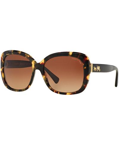 Coach Polarized Sunglasses, HC8158