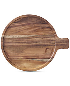 "Villeroy & Boch Artesano Wood Tray Cover for 7"" Bowl"