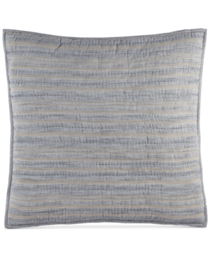 Hotel Collection Linen Stripe Quilted European Sham, Only at