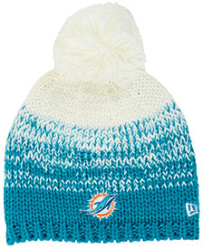 New Era Women's Miami Dolphins Polar Dust Knit Hat