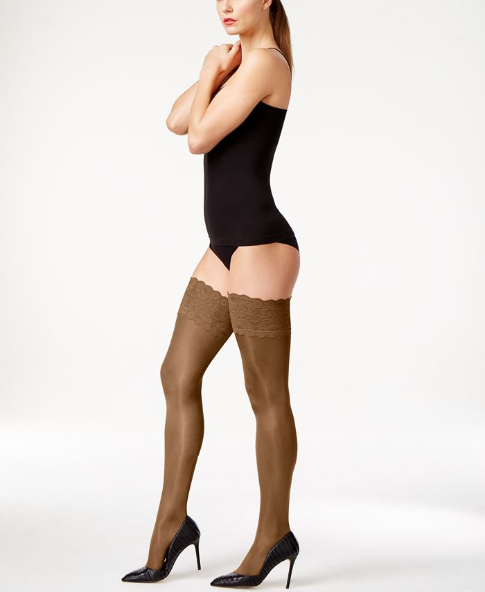 Wolford - Satin Touch 20 Stay Up Thigh Highs