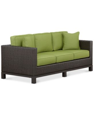 Katalina Wicker Outdoor Sofa. Furniture