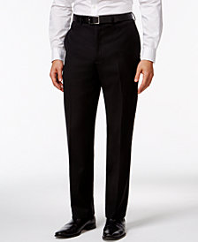 Calvin Klein Black Solid Big and Tall Modern Fit Pants