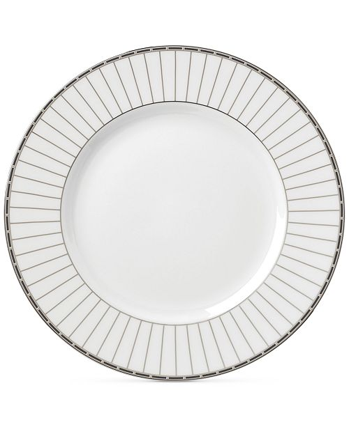 Lenox Onyx Platinum  Bone China Dinner Plate