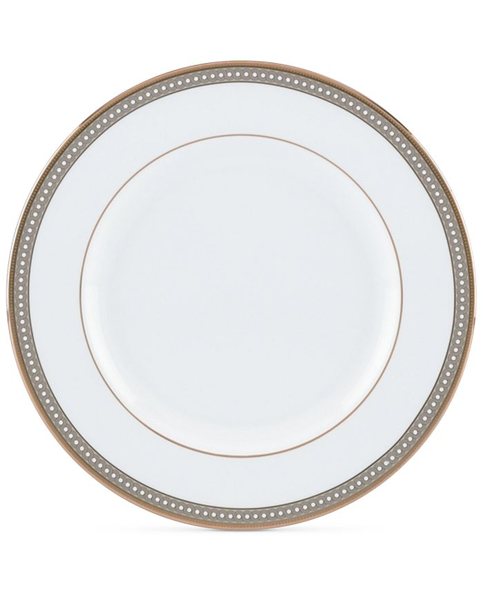 Lenox - Jeweled Jardin Collection Bone China Salad/Dessert Plate