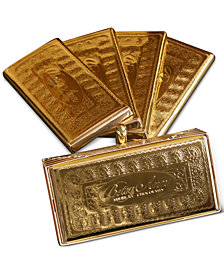 Betsy Ann Set of 4 Gold Chocolate Bar Gift Box