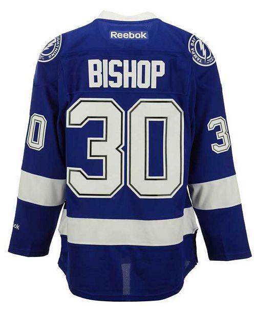 premium selection 51c18 e96e0 Reebok Men's Ben Bishop Tampa Bay Lightning Premier Jersey ...
