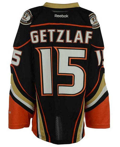 newest 4bdd9 02147 Reebok Boys' Ryan Getzlaf Anaheim Ducks Replica Jersey, Big ...