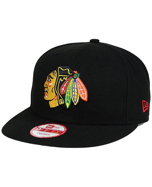 New Era Chicago Blackhawks All Day 9FIFTY Snapback Cap - Sports Fan ... ed93cc6c1aca