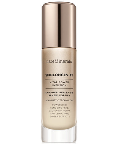 bareMinerals Skinlongevity Vital Power Infusion Serum, 1.7-oz.
