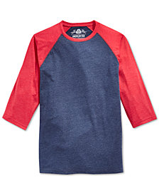 American Rag Men's Raglan T-Shirt, Created for Macy's