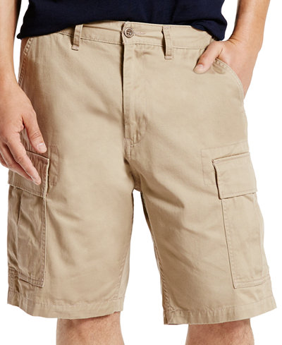Levi's® Men's Carrier Loose-Fit Cargo Shorts - Shorts - Men - Macy's