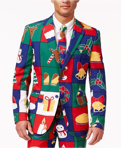 OppoSuits  Quilty Pleasure Slim-Fit Suit and Tie