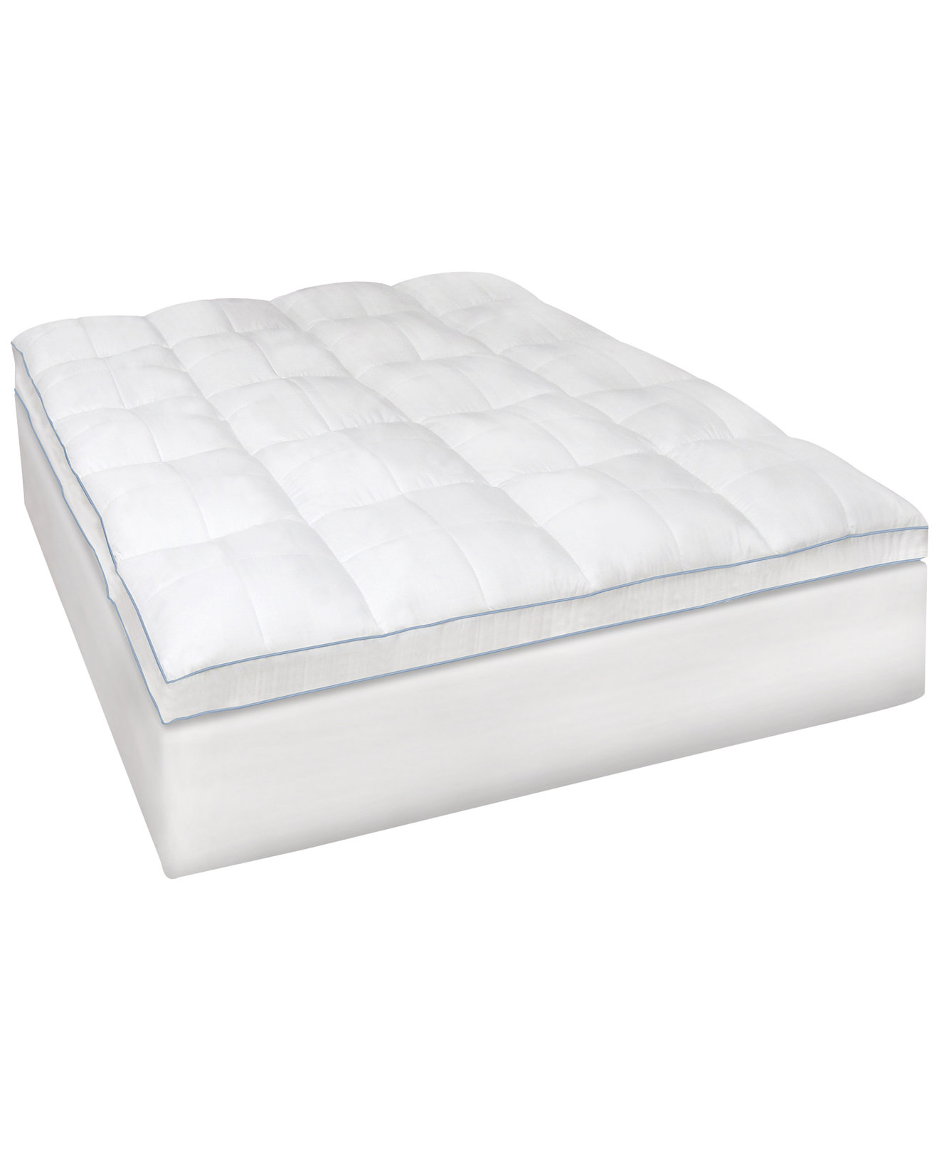 SensorGel MemoryLOFT® 3.5'' Gel-Infused Memory Foam and Fiber Mattress  Topper Collection