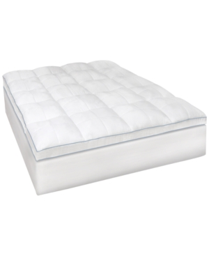 SensorGel MemoryLOFT 35 GelInfused California King Memory Foam and Fiber Mattress Topper Bedding