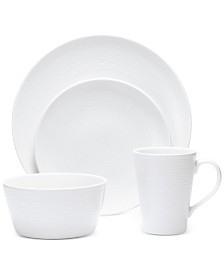 Noritake Swirl  4-Pc. Coupe Place Setting