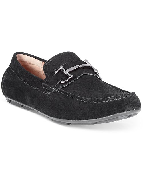 Alfani Men's James Suede Driver with Bit
