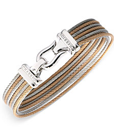 CHARRIOL Women's Two-Tone Cable Bangle Bracelet