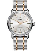 Rado Men's Swiss Automatic DiaMaster Two-Tone Stainless Steel Bracelet Watch 41mm R14077113