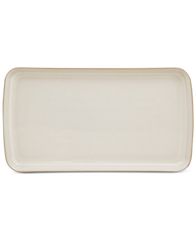 Denby Natural Canvas Stoneware Small Rectangular Platter