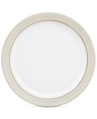 Natural Canvas  Stoneware Salad Plate