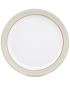 Natural Canvas  Stoneware Salad Plate