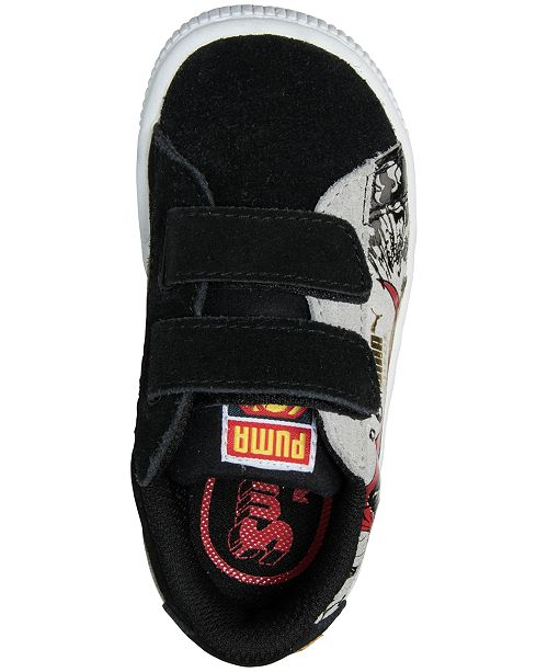 8a38b51991c ... Puma Toddler Boys  Suede Superman 2 AC Casual Sneakers from Finish Line  ...