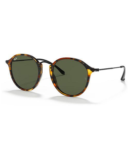 Ray-Ban Sunglasses, RB2447 ROUND FLECK