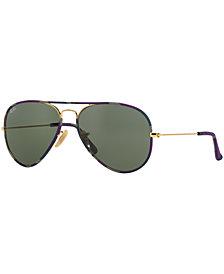 Ray-Ban AVIATOR FULL COLOR Sunglasses, RB3025JM 58
