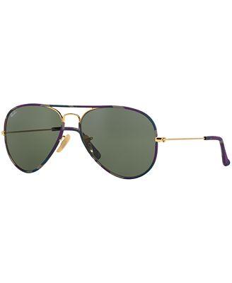 11a3c90a36f56c ... czech ray ban aviator full color sunglasses rb3025jm 58 b4481 397cd ...