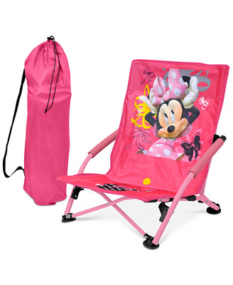 Disney Minnie Mouse Kids Folding Lounge Chair Quick Ship