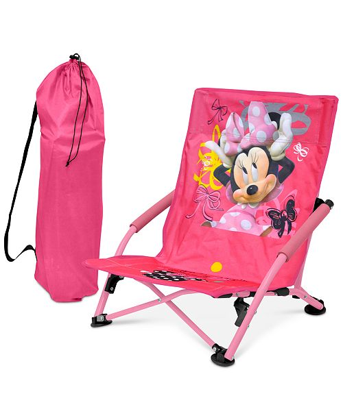 Incredible Furniture Disney Minnie Mouse Kids Folding Lounge Chair Theyellowbook Wood Chair Design Ideas Theyellowbookinfo