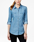 Style & Co Utility Shirt Created for Macys