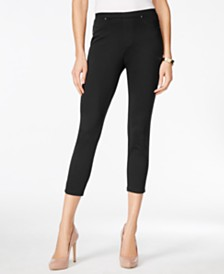 Style & Co Twill Capri Leggings, Created for Macy's
