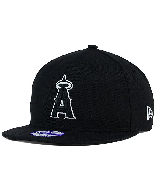 sale retailer 4dd77 c5b89 ... Snapback Cap  New Era Kids  Los Angeles Angels of Anaheim Black White  9FIFTY Snapback ...
