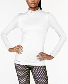 Women's ColdGear® Fleece-Lined Mock Neck Top