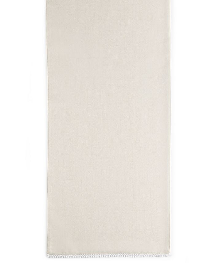"""Lenox - French Perle Collection 70"""" Natural Table Runner"""