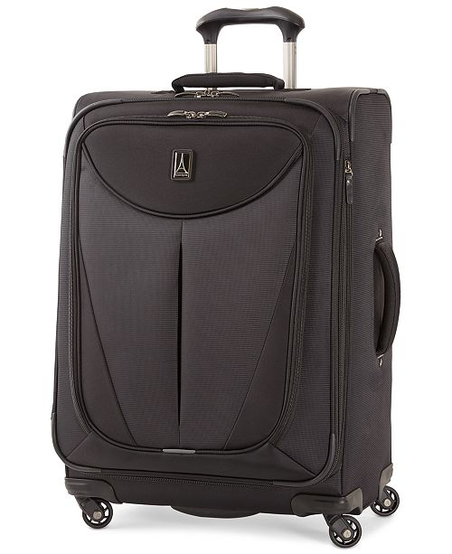 "Travelpro CLOSEOUT! Walkabout 3 25"" Expandable Spinner Suitcase, Created for Macy's"