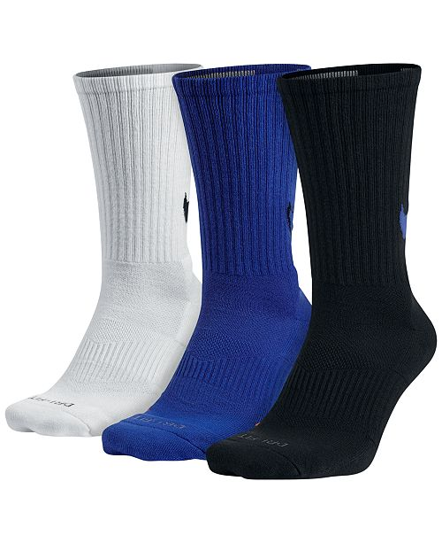 b8405c4993ce9 Nike Dri-FIT 3-Pack HBR Swoosh Crew Socks & Reviews - Socks - Men ...