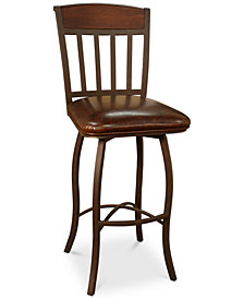 Lancaster Bar Height Stool, Quick Ship