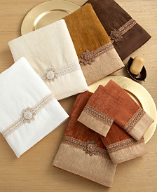 "Avanti ""Braided Cuff"" Towel Collection"