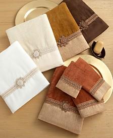 "Avanti ""Braided Cuff"" Towel Collection"